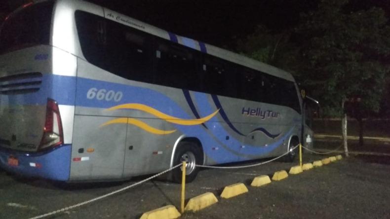 SP: Polícia Militar recupera ônibus roubado em Ribeirão Preto