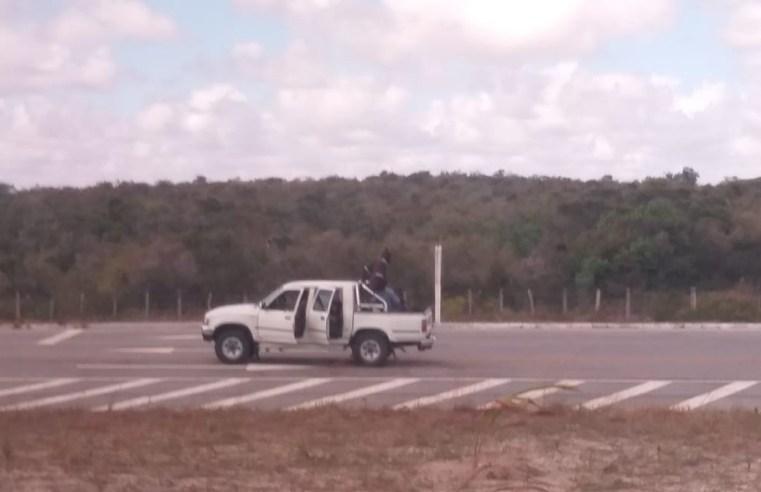 RN: Bandidos fazem arrastão em ônibus em Maxaranguape