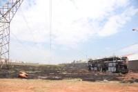 SP: Incêndio destrói ônibus rodoviário em São José do Rio Preto