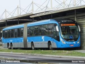 Falta manutenção no ar condicionado dos ônibus do BRT Rio, reclamam passageiros