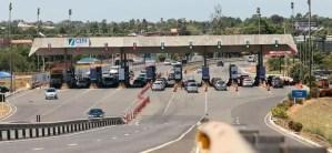 Protesto contra ajuste na tarifa do pedágio deixou tráfego lento na BA-099