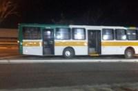 Ônibus perde roda e quase causa tragédia na BR-116 em Fortaleza