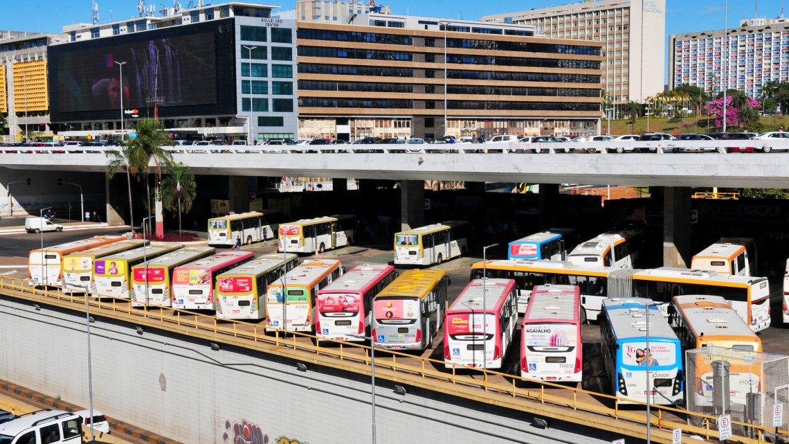 DF: Empresas têm 24h para enviar imagens de crimes em ônibus