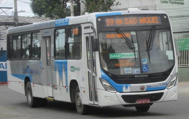 RJ: Traficantes impedem a circulação de ônibus em São Gonçalo