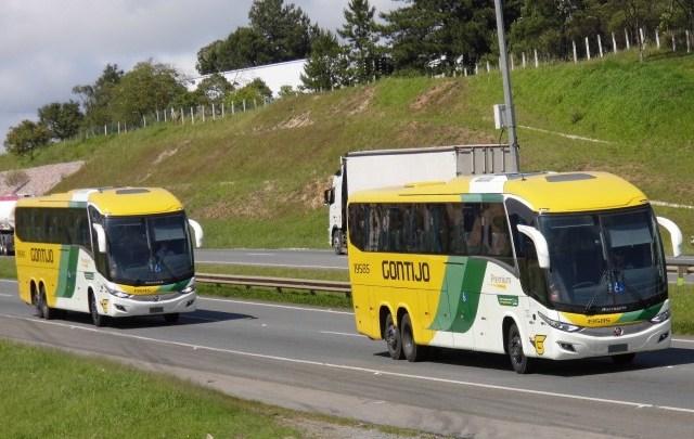 Novos ônibus da Gontijo Transportes seguem para Belo Horizonte