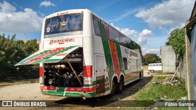 Ônibus da Expresso Internacional Ormeño apresenta problemas no ar e atrasa viagem ao Peru
