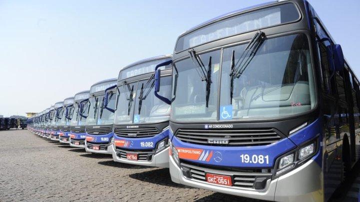 Governo de SP finaliza a entrega de 140 novos ônibus para operação em 14 municípios da Região Metropolitana de Campinas