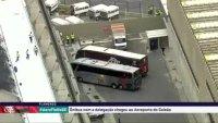 AO VIVO: AeroFla movimenta o Rio de Janeiro. Ônibus chegam no aeroporto do Galeão. Acompanhe