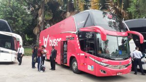 Buser inicia viagem internacional Rio x Lima nesta segunda-feira