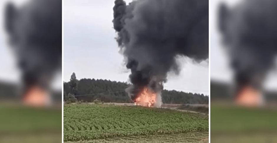 PR: ônibus escolar pega fogo na Região Metropolitana de Curitiba
