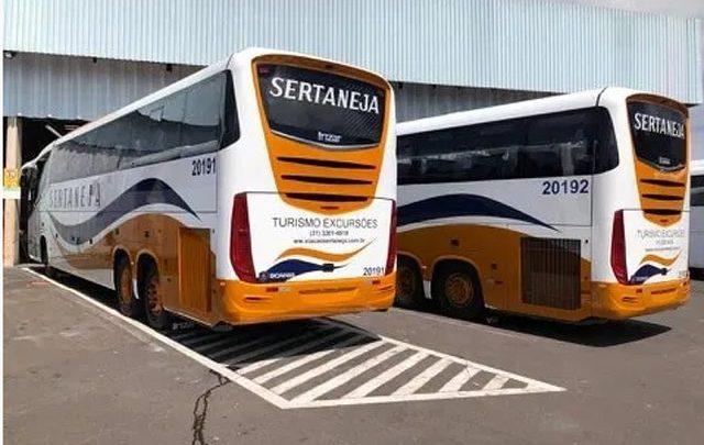 Viação Sertaneja adquire 2 novos Irizar i6 Plus Scania e muda identidade visual