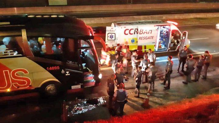 SP: Assaltante de ônibus acaba morto por PM na Rodovia Anhanguera em Campinas