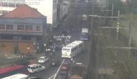 Manifestação de rodoviários de Porto Alegre complicou o trânsito nesta manhã