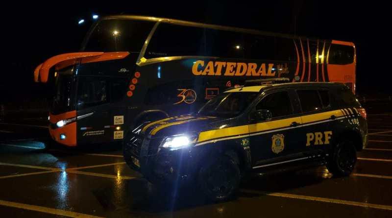 Catedral Turismo tem mais um ônibus retido pela PRF durante o feriadão da Proclamação da República