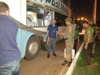 TO: Operação contra pesca irregular em Palmas verifica mercadorias em ônibus