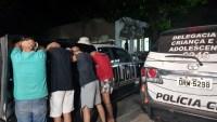 Fortaleza: PM prende quadrilha que assaltava passageiros em ponto de ônibus