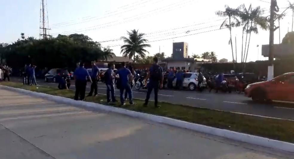 Rodoviários fazem paralisação em Belém nesta terça-feira