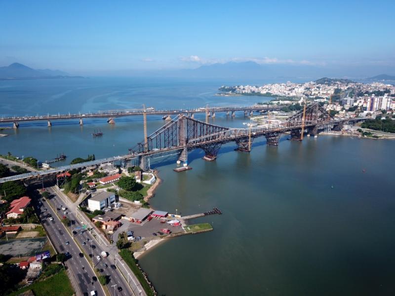 Florianópolis: Tráfego na Ponte Hercílio Luz será liberado gradualmente a cada 15 dias