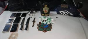 Polícia prende homem e apreende adolescente de 17 anos após roubarem ônibus em Manaus