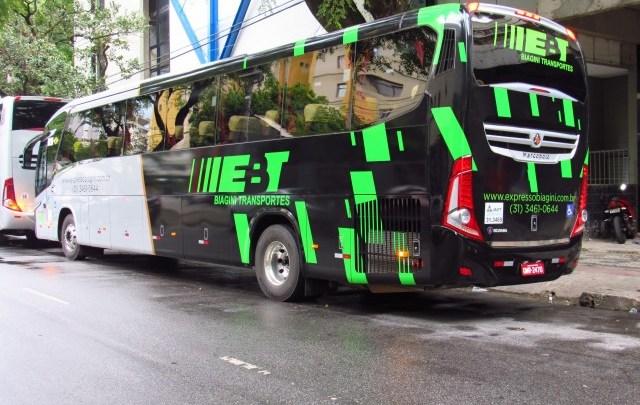 MG: Ônibus fretado a serviço da Buser é apreendido em Juiz de Fora nesta segunda-feira (2)
