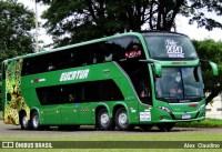 Eucatur chama atenção com novos ônibus Busscar 8x2 na linha Campo Grande x Florianópolis