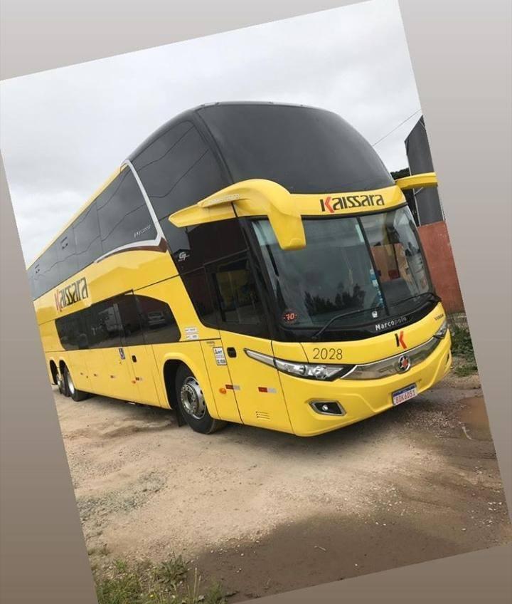 Surge o primeiro Paradiso New G7 Amarelo da Viação Kaissara