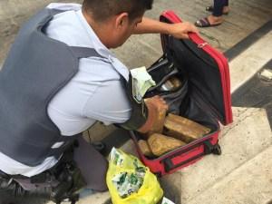 SP: Mulher acaba presa com  22 tabletes de maconha em Porangaba