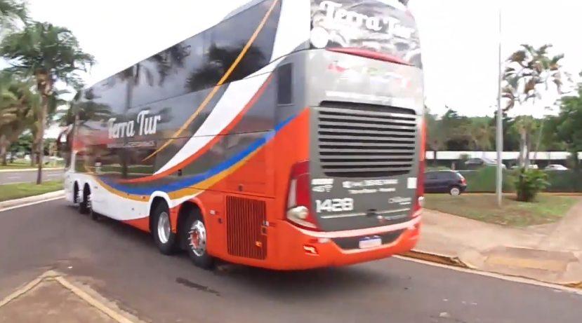 Vídeo: Movimento intenso de ônibus na Rodoviária de Campo Grande