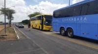RN: PRF realiza ação educativa sobre a importância do uso do cinto de segurança em ônibus