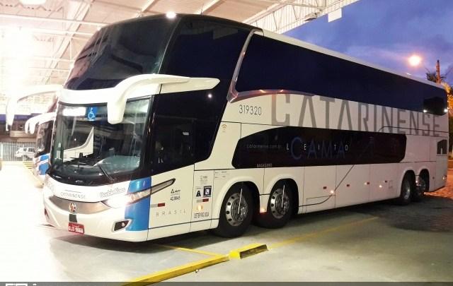 Catarinense segue perdendo passageiros na linha Santa Maria/RS x Joinville/SC