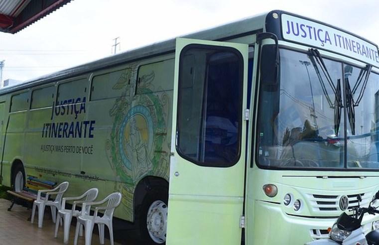 Ônibus da Justiça Itinerante atende em Manaus até o dia 19 de dezembro