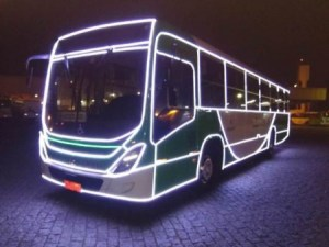 SP: Campinas terá ônibus iluminados a partir desta segunda-feira 2