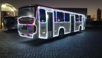 PB: Campina Grande recebe ônibus iluminado nesta semana