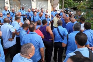 Rio: Funcionários da Viação Acari realizam paralisação por falta de pagamento