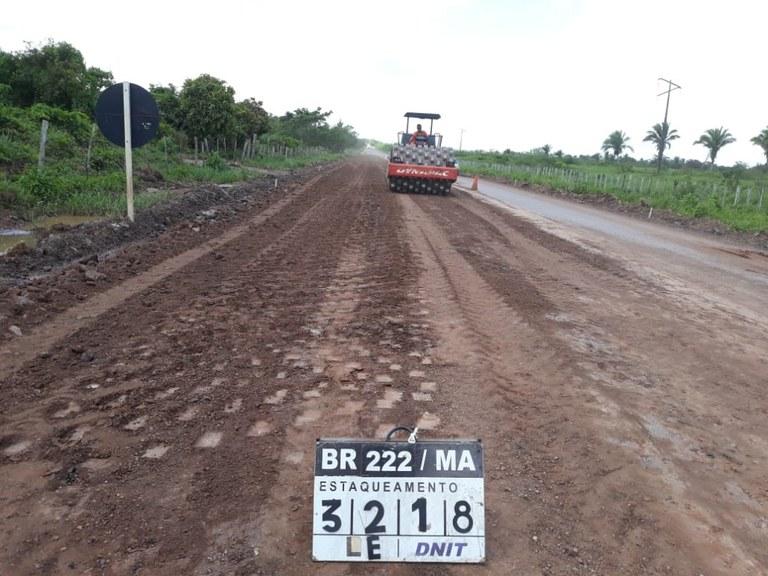 DNIT avança com os serviços de manutenção em rodovias do Maranhão
