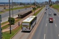 DF: Novos ônibus começam a utilizar o corredor exclusivo da EPTG