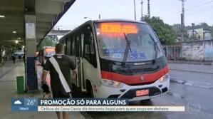 Rio: Sem fiscalização empresa de ônibus oferece tarifa mais barata na Zona Oeste
