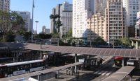 São Paulo: Obra no abrigo na Parada INSS muda embarque e desembarque de 21 linhas na Avenida Nove de Julho