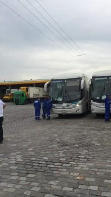 RJ: Manifestação no Comperj impede a entrada e saídas de ônibus