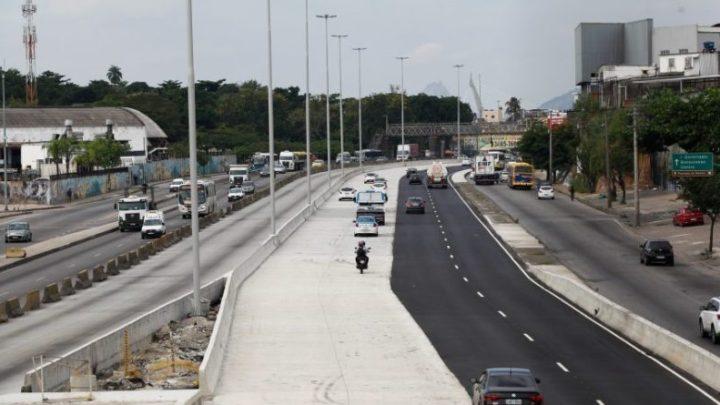 Obra em trecho da Av. Brasil é suspensa por causa de gasoduto no Rio de Janeiro