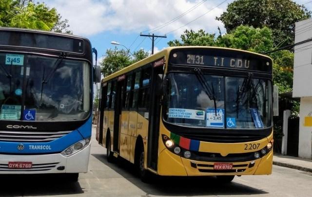 Governo de Pernambuco recusa reajuste na tarifa de ônibus proposto pelo Urbana-PE