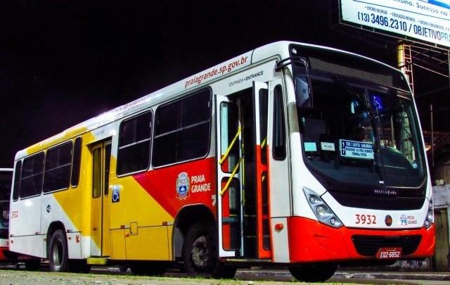 SP: Tarifa de ônibus de Praia Grande aumenta para R$ 4,65