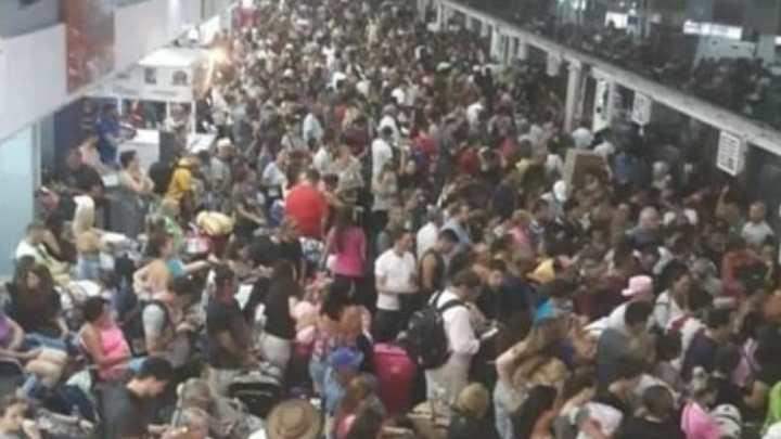 SC: Rodoviária de Balneário Camboriú segue com movimento intenso de passageiros