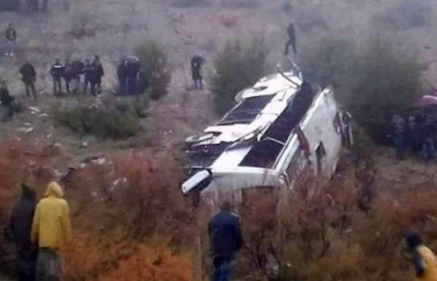 Ônibus tomba deixando 20 mortos e 24 feridos no Irã