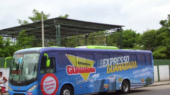 RJ: Supermercado Guanabara nega sequestro de ônibus no Jardim Catarina em São Gonçalo