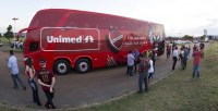 GO: Vila Nova F.C sinaliza a  venda de seu ônibus Double Deck