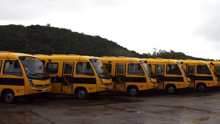 Caminho da Escola vai entregar 6,2 mil novos ônibus para estados e municípios