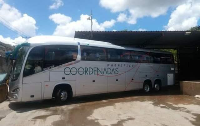 MG: Empresa Coordenadas surge com novos ônibus Irizar