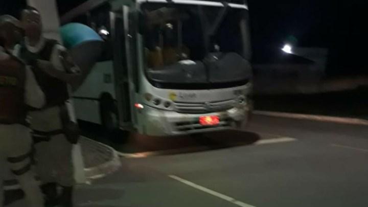 BA: Ônibus é metralhado na BR-110 deixado 1 morto e 11 feridos