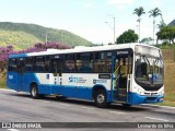 Ônibus urbano tomba com 25 passageiros a bordo na SC-403, em Florianópolis nesta manhã